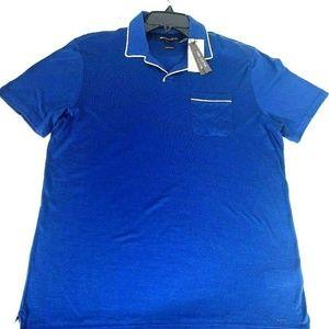 Michael Kors Solid Pima Cotton Summer Polo Shirt